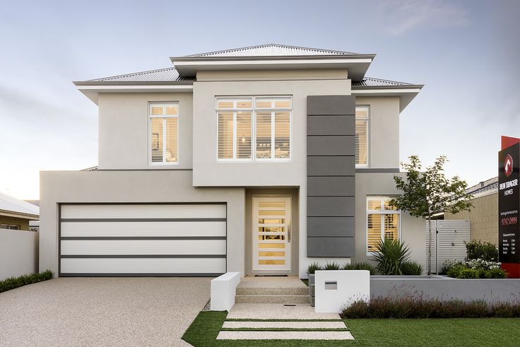 The Aster © Ben Trager Homes | Perth Display Home | Home Facade Entry