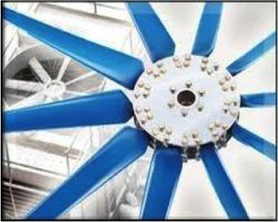 Dolphin cooling tower #FRP Fans: Axial flow fans are widely used to provide the required airflow for heat & mass transfer operations in various #industrial equipment and processes. These equipment mainly include #Cooling #Towers, Heat Exchangers, Humidifiers, #Industrial #Air circulators and Exhaust etc.