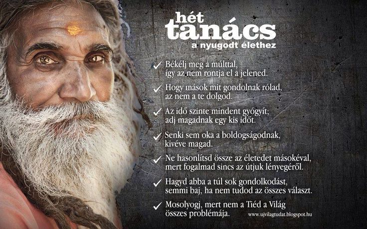 7 tanács