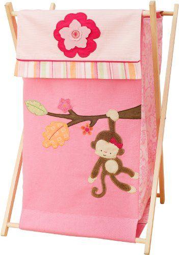 Kids line hamper miss monkey kidsline - Monkey laundry hamper ...