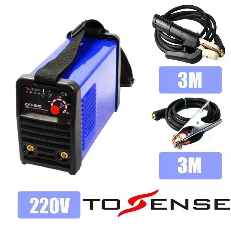 161.10$  Watch now - DC Inverter Welding Machine Plsama Welder ZX7200 220V With 3M Clamp & Holder   #SHOPPING