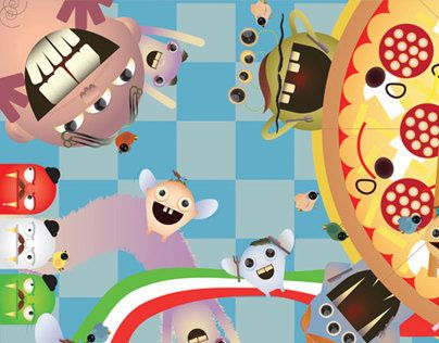 """Check out new work on my @Behance portfolio: """"Monsters"""" http://on.be.net/1iol5OV"""