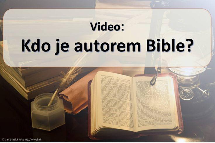 """Přibližně čtyřicet různých mužů napsal text Bible, přesto se nazývá """"Boží slovo."""" (1. Tesaloničanům 2:13) Jak by mohl Bůh dát své myšlenky na člověka? Podívejte se na toto video a zjistěte to. https://www.jw.org/cs/publikace/knihy/dobra-zprava-od-boha/dobra-zprava-v-bibli-od-boha/video-kdo-je-autorem-bible/ (Approximately forty different men wrote the Bible text, but is called """"the word of God."""" (1 Thessalonians 2:13) How could God give his thoughts to humans? Watch this video and find out.)"""