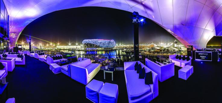 Amber Lounge Abu Dhabi hospitality  #F1AbuDhabi2015