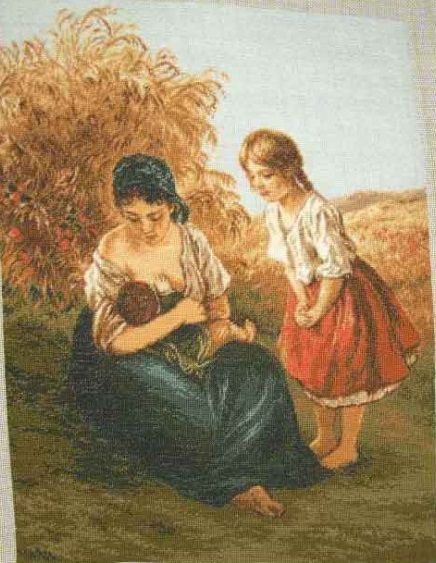 """Mama"" ~ Pattern: http://gulya75.gallery.ru/watch?a=rf5-fiJa"