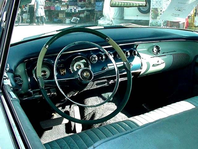 Gregory David Coster Jewels Designer 1956 Chrysler Imperial 2 Door Hardtop Coupe Newport Front Back Left And Right Side Interior Seat New Yorker