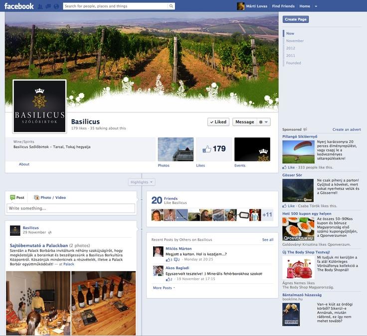 Basilicus facebook page