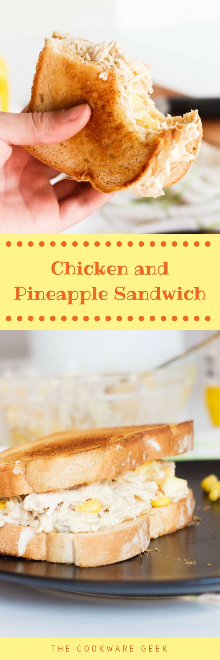 Chicken and Pineapple Sandwich - This Chicken and pineapple sandwich will be your new obsession for a   quick dinner. This is a Portuguese street food recipe that has tons of   flavor! The Cookware Geek