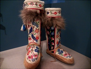 Native American Embroidered Boots
