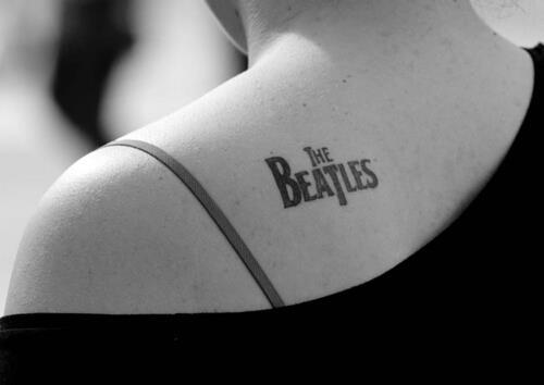 The Beatles tattoo for grandpa Benny