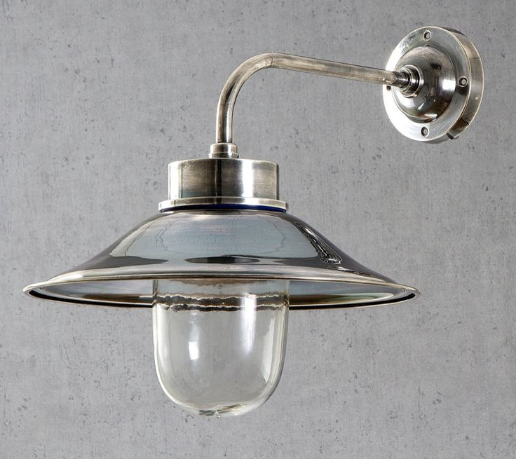 Sandhurst Wall Lamp in Antique Silver - OUTDOOR - Emac & Lawton