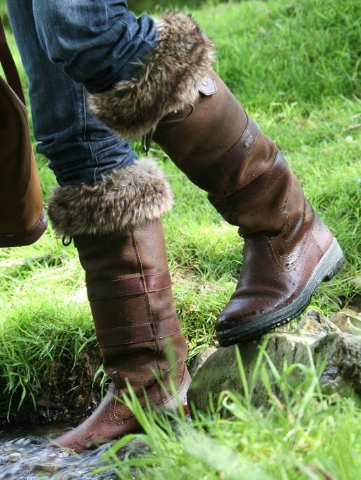 Dubarry Furry Boot Liners are perfect for wearing with your Dubarry Boots. £25