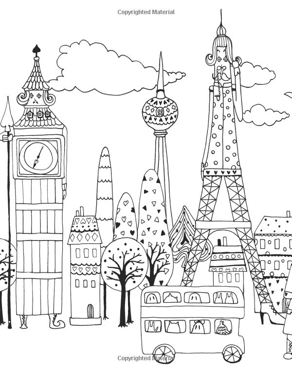 u s landmarks coloring pages - photo #23