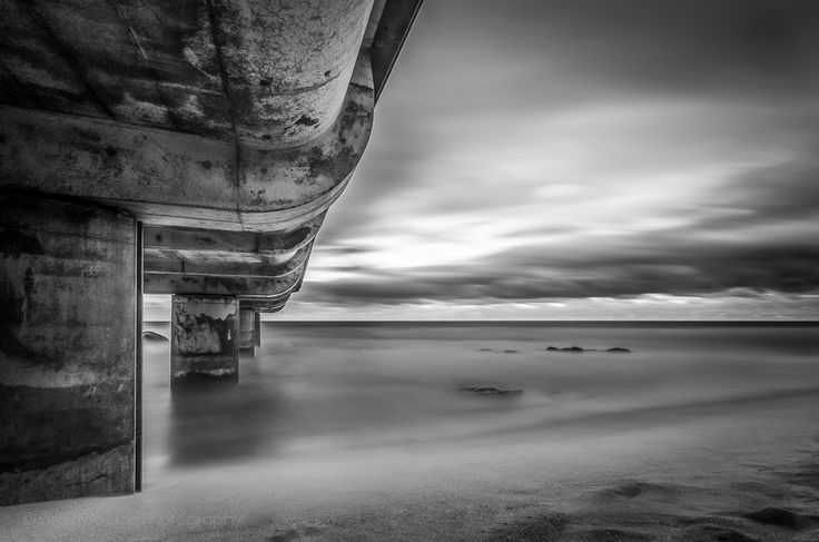 Heaven and Earth Collide - This is a long exposure shot, and it is one my personal favorites.  This shot was actually one of the first long exposure shots I ever took with my B+W ND 110 filter.  I had in fact not set off with the intention of taking this shot from just under the pier, I had every intention of including the pier in my shot but certainly not from this particular angle.  The reason I ended up under the pier is because it started raining :-) but it just goes to show that…