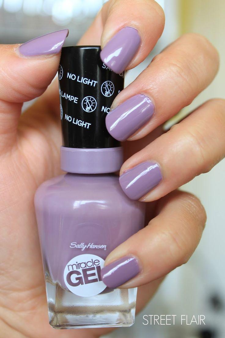 Sally hansen gel nails and gel nail polish on pinterest