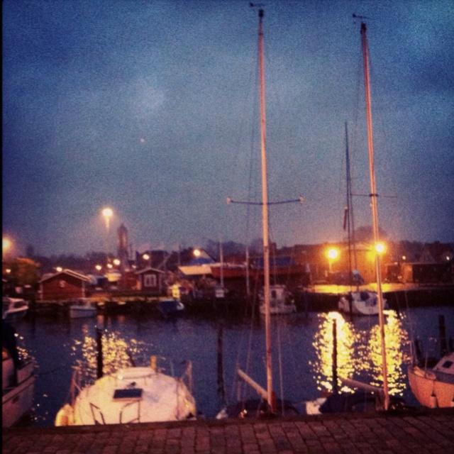 Råå harbour in Helsingborg
