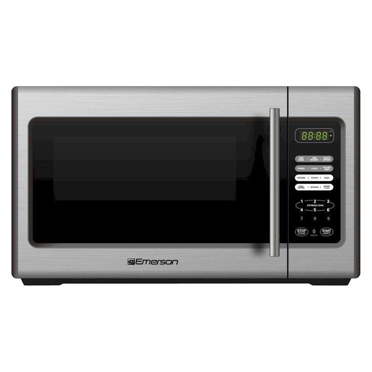 Emerson 900 Watt Microwave Stainless Steel Mw Target 65
