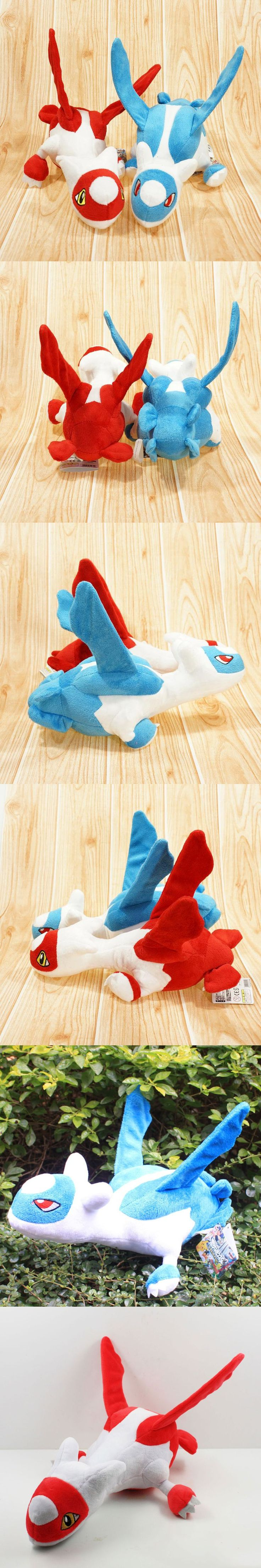 "New Arrival Pokemon Latias and Latios Stuffed Plush Toys Doll With Tag 12"" 30cm Pokemon Plush Toy Kids Toys Free Shipping"