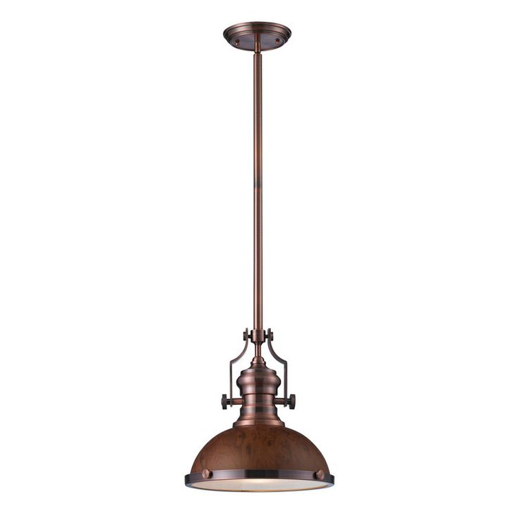 View the Elk Lighting 66545-1 Chadwick 1 Light Pendant at Build.com.