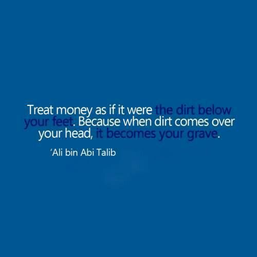 Brother Ali Quotes: How To Treat Money