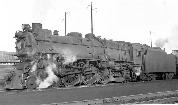 Pennsylvania Railroad K4 class coal burning Pacific 4-6-2