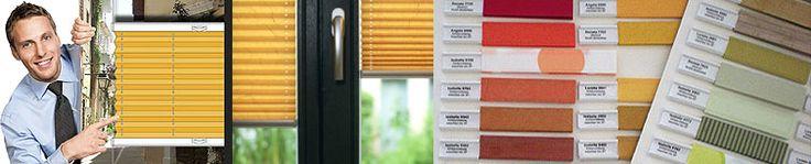 Plissee Farben, Stoffe, Dekore in XXL Auswahl online oder im Shop