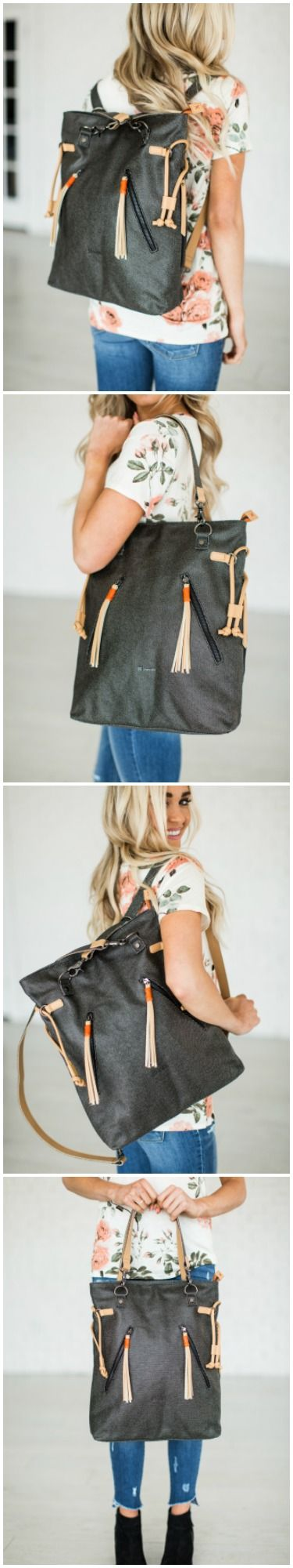 Tempest Tote Backpack by Sherpani \\ Mindy Mae's Market