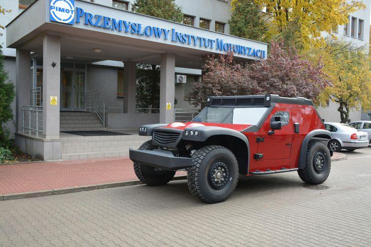 W Przemysłowym Instytucie Motoryzacji przy współpracy z firmą DRABPOL powstał wielofunkcyjny pojazd do zadań specjalnych.