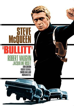 Bullitt (1968) - I remember when car chases were real, not fake, CGI-laden, ho-hum affairs. And this is one of the best ever, probably THE best car chase ever put on film.