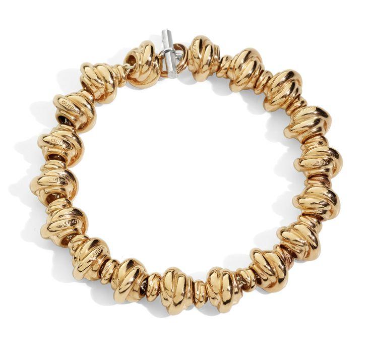 Nodi oro rosa 9k bracelet gold yellow gift women gioiello moda fashion jewellery beautiful knot queriot