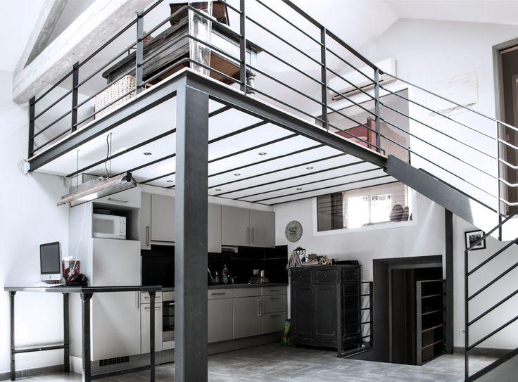 Mezzanine id es pour utiliser la hauteur sous plafond canon studios et euro - Mezzanine pour studio ...