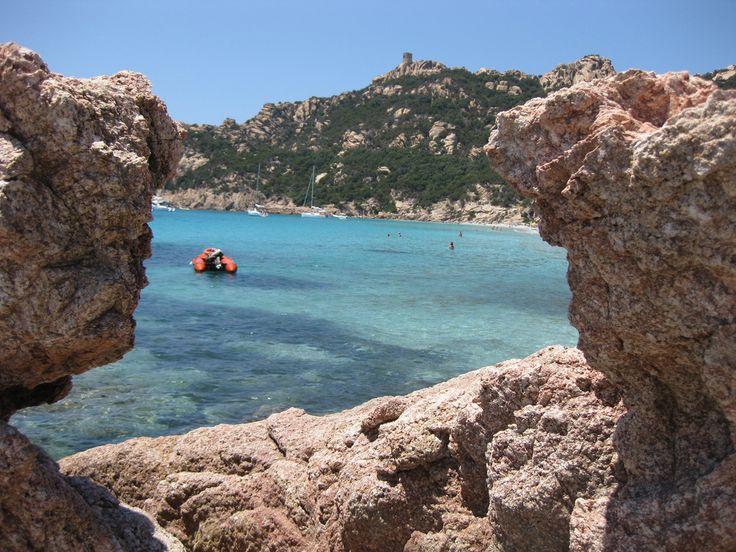 La #plage de #Roccapina en #Corse. #France