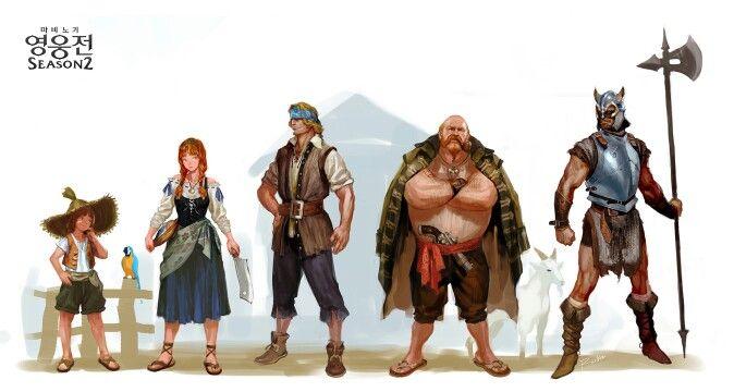 Mabnigi Heroes NPC