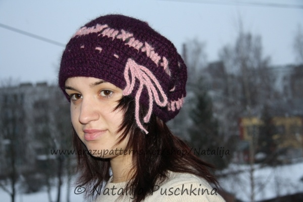 Ladies Fashion Loopschal With Hat
