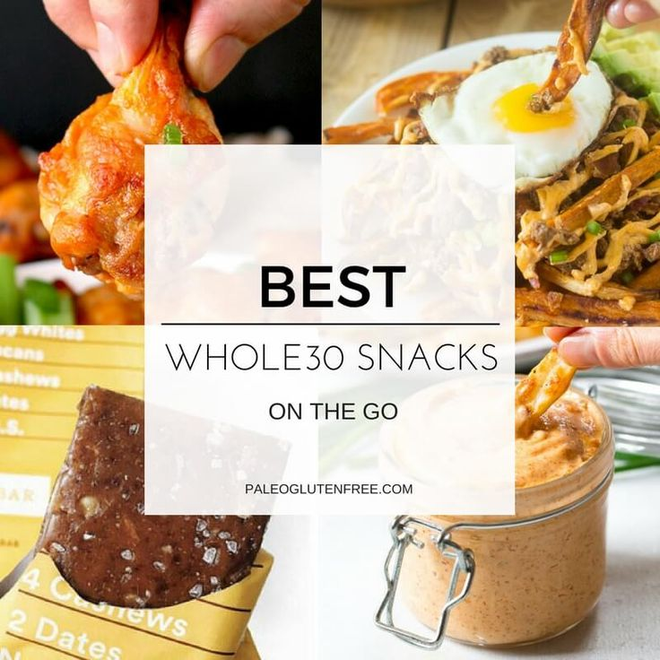 The best list of whole30 snacks on the go! Whole30 brands, products, and easy recipes you can make ahead. Easy to use guide for whole30 snacking needs!
