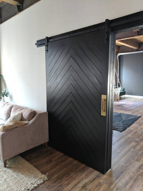 1 Panel Z Barn Door Walston Door Company N Kansas City Mo In 2020 Barn Doors Sliding Barn Door Modern Barn Door