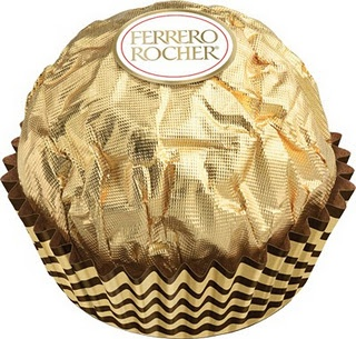 Ferrero rocher... an absolute favorite! Along with Ferrero Rondnoir, of course!