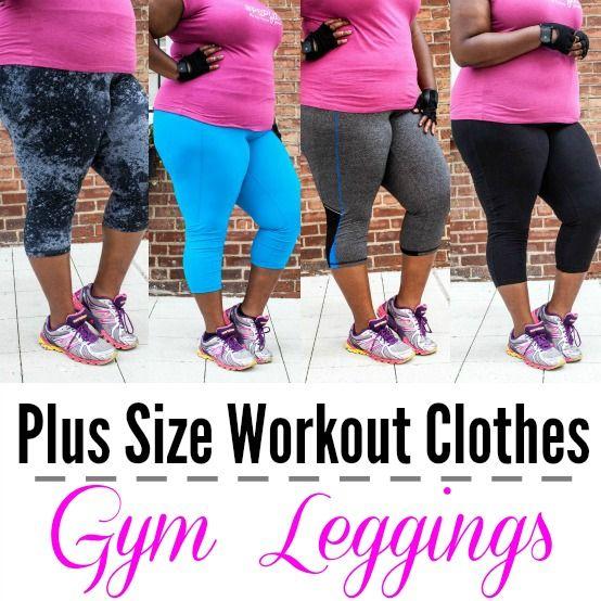 Plus Size Workout Clothes: Plus Size Gym Leggings!