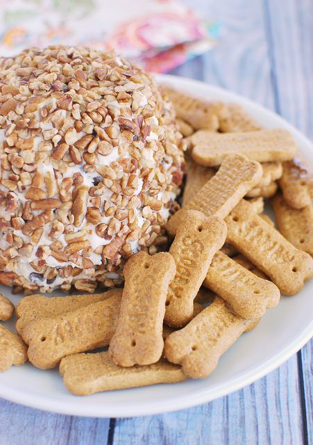 Chocolate Chip Cheese Ball is the ultimate party food!