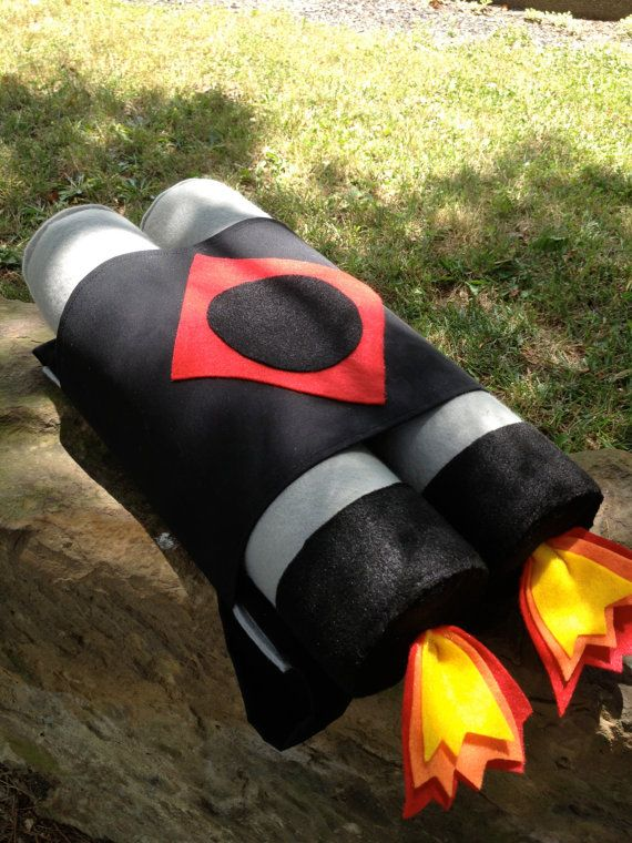Jet Pack For Kids Back Pack Style Jet Pack by HopewellCreek