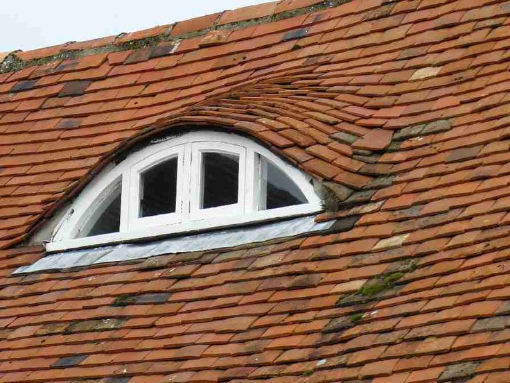 65 best images about dormer windows and french doors on for Eyebrow dormer windows