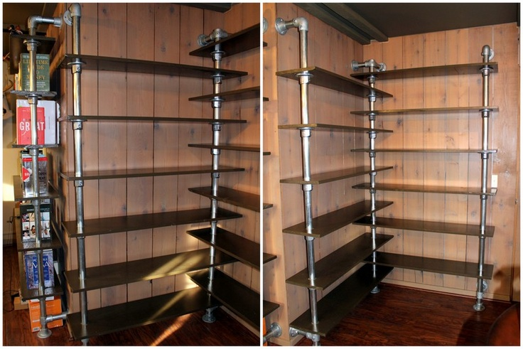 Corner Shelf Finished Made With Kee Lite Fittings