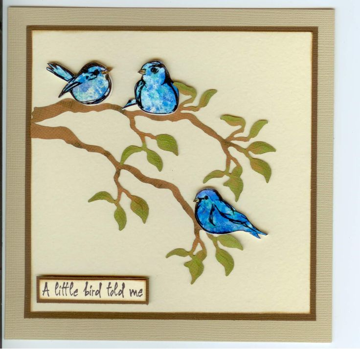 MDR41320 Scribbly Birds (by Dina Wakely), 4104C Bird Told Me by Stamp-it Australia. Using white shrink plastic, coloured with alcohol inks. Card by Susan of Art Attic Studio