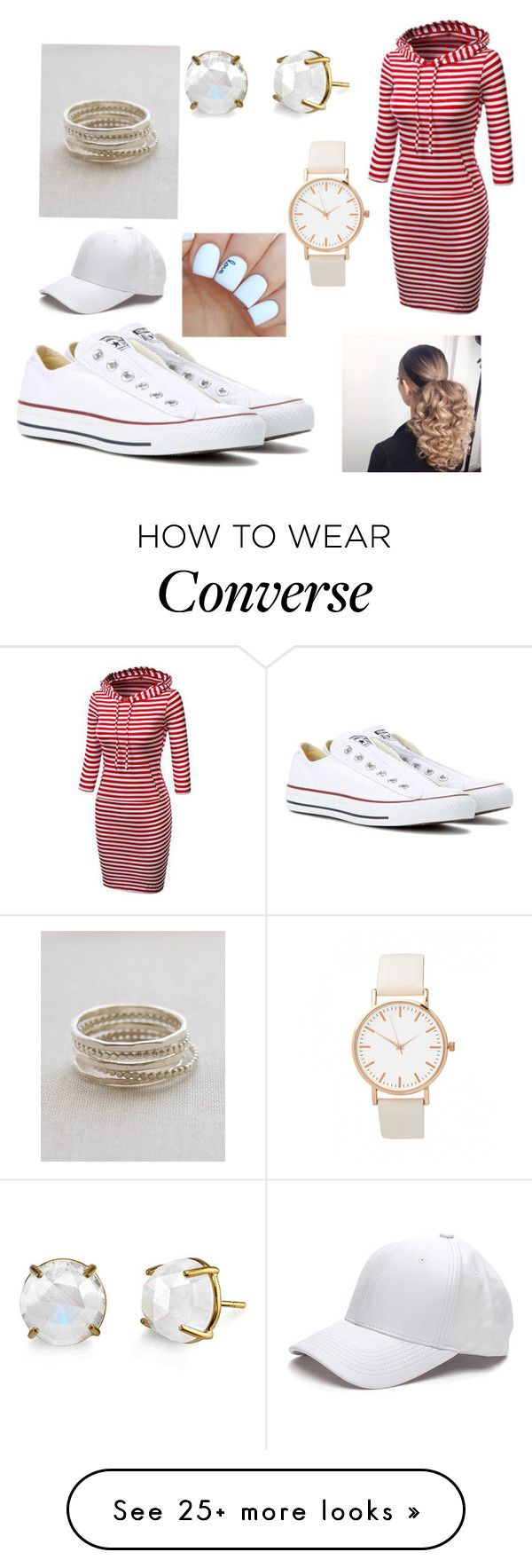 """Converse"" by nevaehsmith168 on Polyvore featuring Converse and Irene Neuwirth"