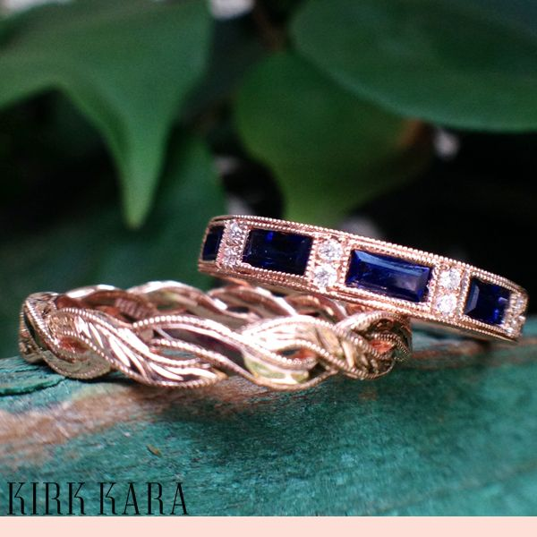 kirk kara gold wedding rings eternity wedding ring
