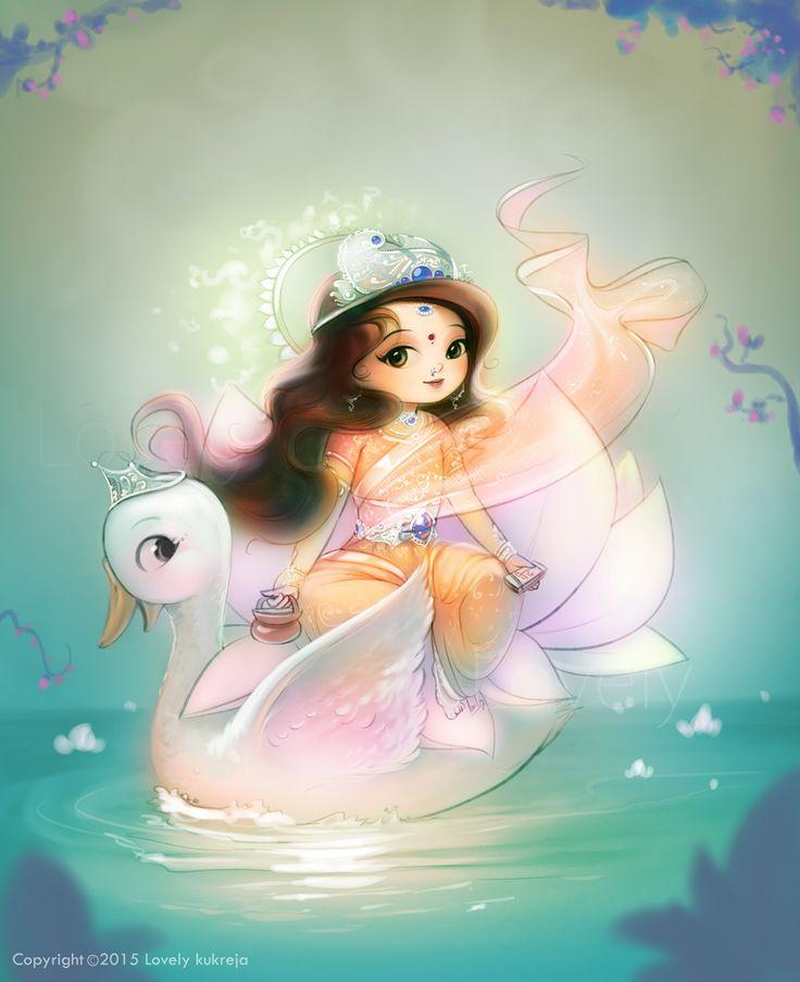 Goddess Gayatri on Behance