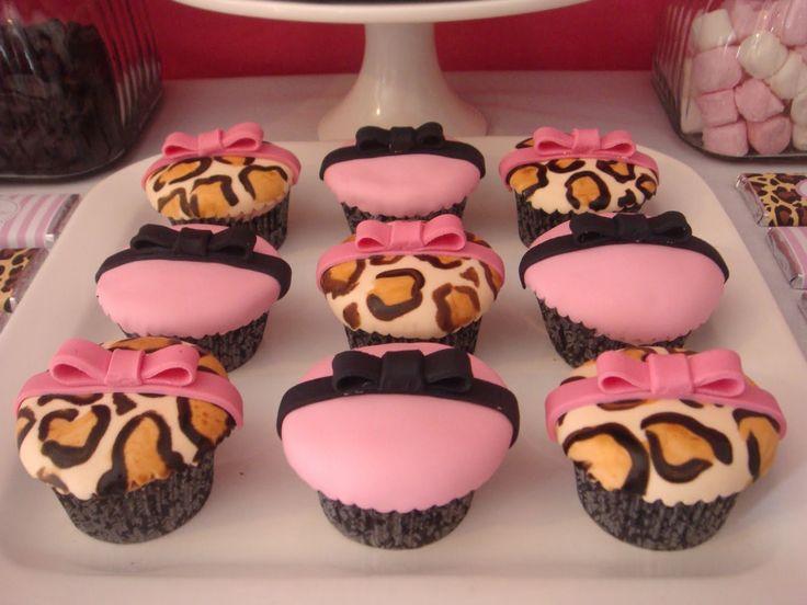 cupcakes pinterest leopards - photo #3