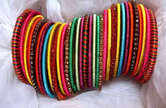 Trendy Handmade bangles collection for girls 2013 by Aiesh ...