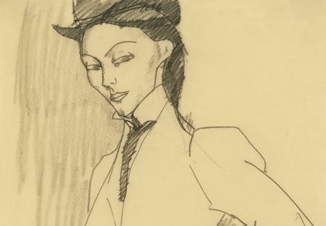 Amedeo Modigliani, Portrait of a Doctor, 1918