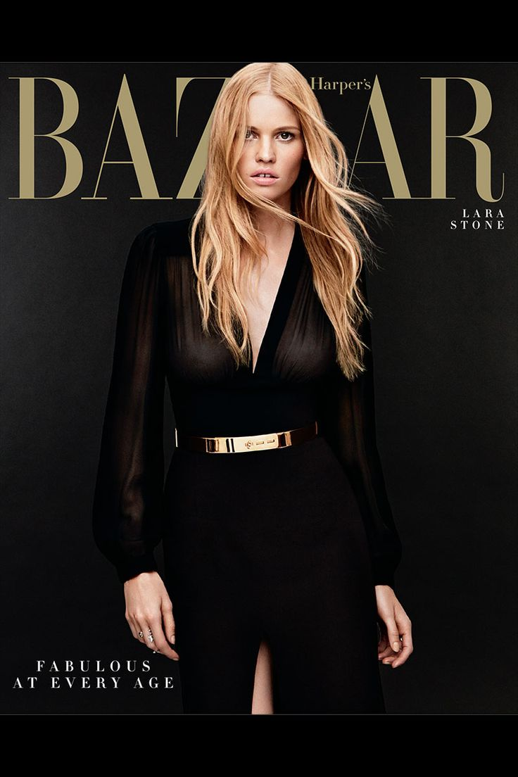 #ranitasobanska #fashion #inspirations.. Lara Stone - Harper's Bazaar, US April 2014